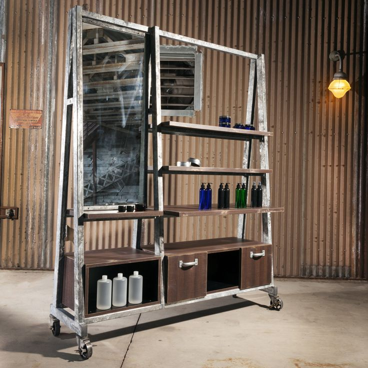 High Iron provides a multitude of display options such as, tools of the trade…