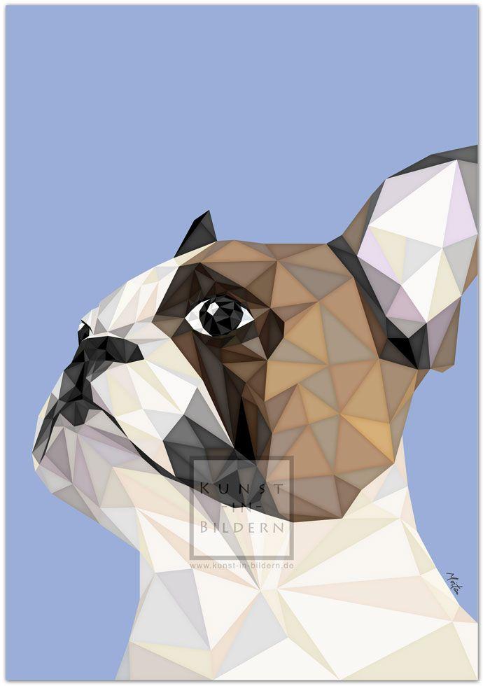 Ich bin eine farbige Französische Bulldogge by Moitao. #hund #dog #hunde #dogs #kunst #art #digital #illustration #französischebulldogge #bulldogge   http://www.kunst-in-bildern.de/bildergalerie/farbige-franzoesische-bulldogge