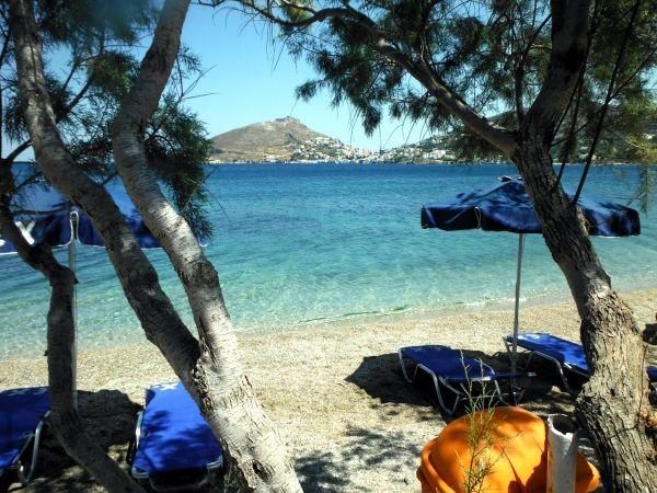 Fantastic water at Dioliskaria beach