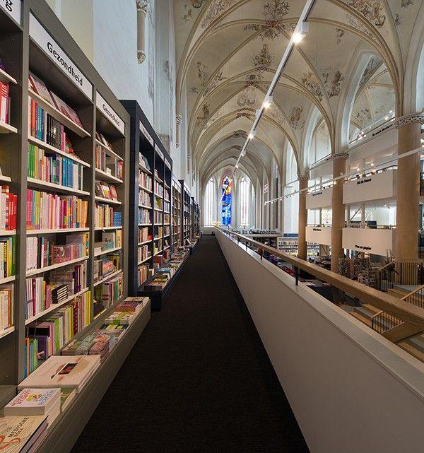 The Broerenkerk Church In City Of Zwolle Netherlands Now Named Waanders Der Broeren After Renovation Made By Bk Architecten