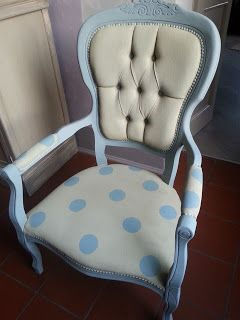 Painted with chalk paint Annie Sloan