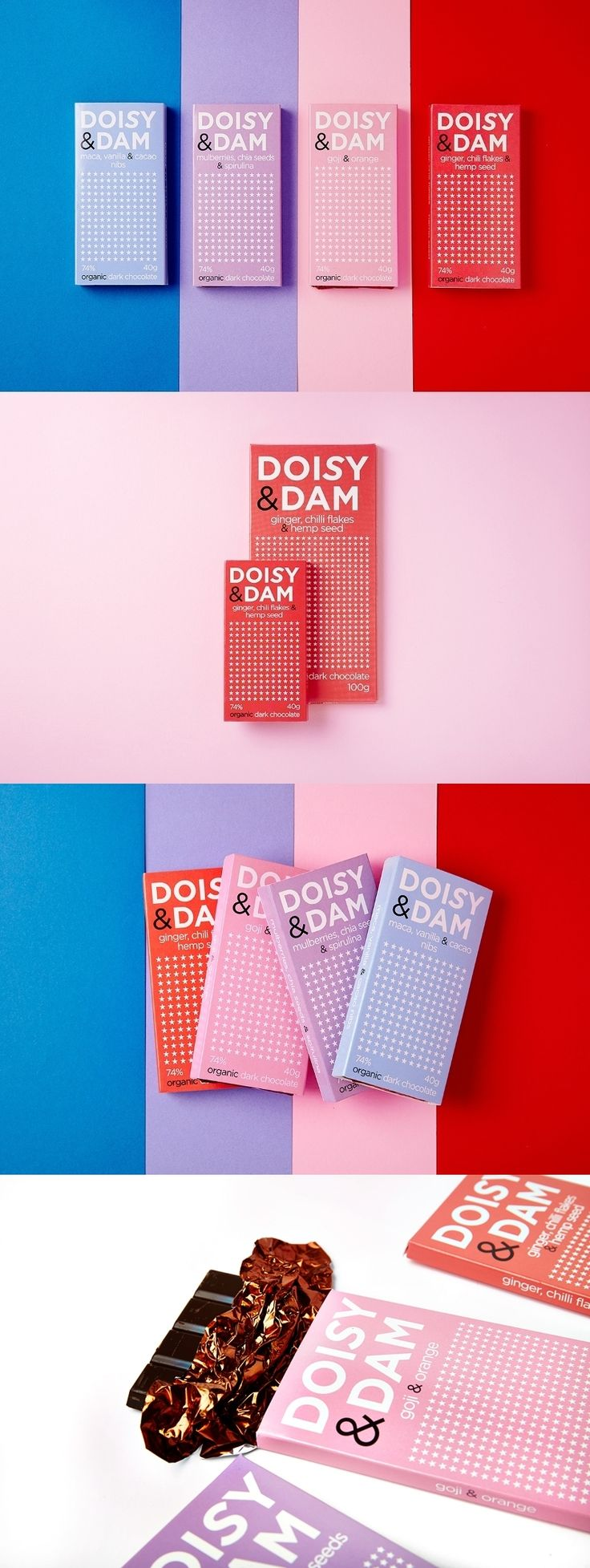 Doisy & Dam. The chocolate palette.