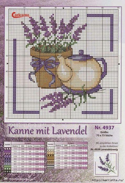 Схемы вышивки ЛАВАНДЫ (5) (477x700, 357Kb)