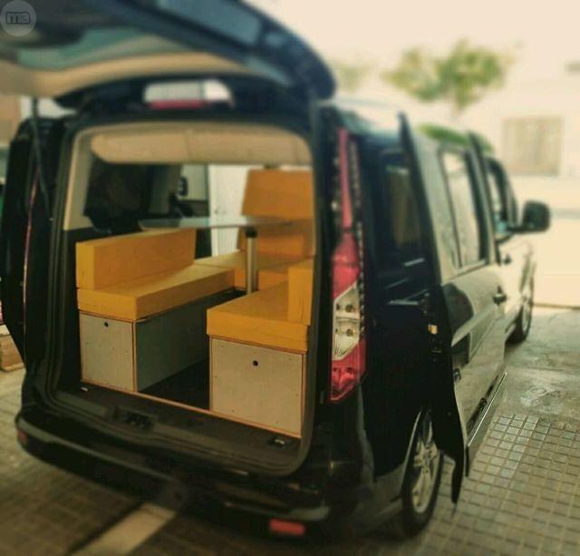 las 25 mejores ideas sobre furgonetas segunda mano en pinterest campistas en venta caravanas. Black Bedroom Furniture Sets. Home Design Ideas