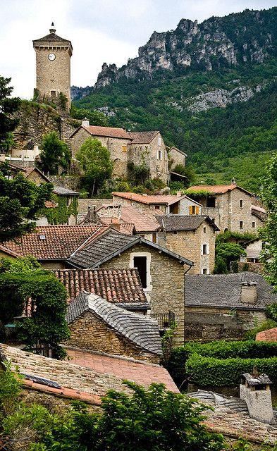 Les Roziers, Peyreleau, Millau, Aveyron, Midi-Pyrénées, France