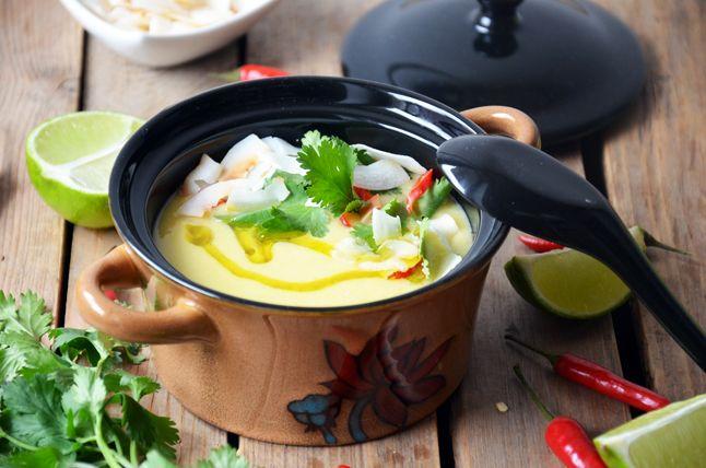 Kublanka vaří doma - Kokosovo-kukuřičná polévka