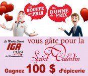 IGA Extra : Gagnez une carte d'épicerie de 100$