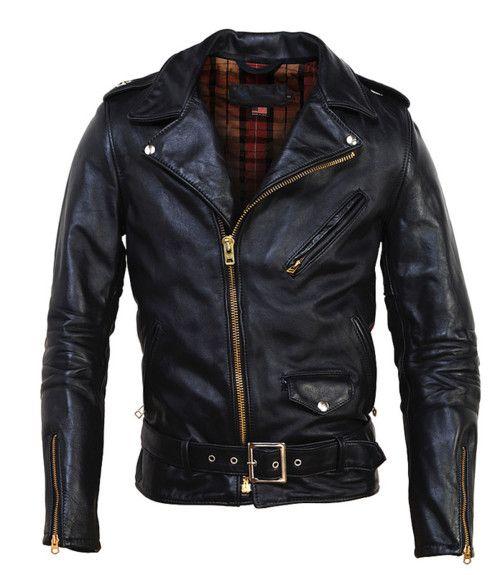 meandmysneakers:  Schott Vintage Assymetrical Motorcycle Jacket
