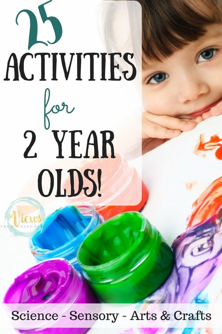 These activities for 2 year olds include science, sensory and arts & crafts toddler projects that focus on learning through play.