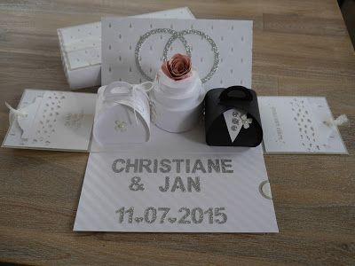Eine doppelte Explosionsbox zur Hochzeit....