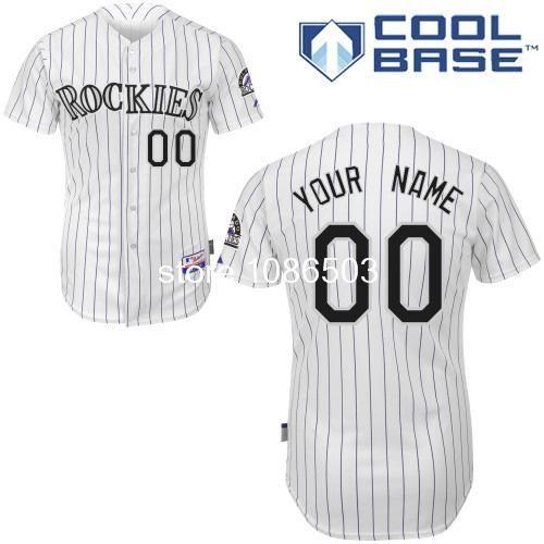 Cheap Wholesale Mlb Men's Customize Baseball Jerseys Colorado Rockies Custom Baseball Jersey Cool Base Embroidery Logos $38.98