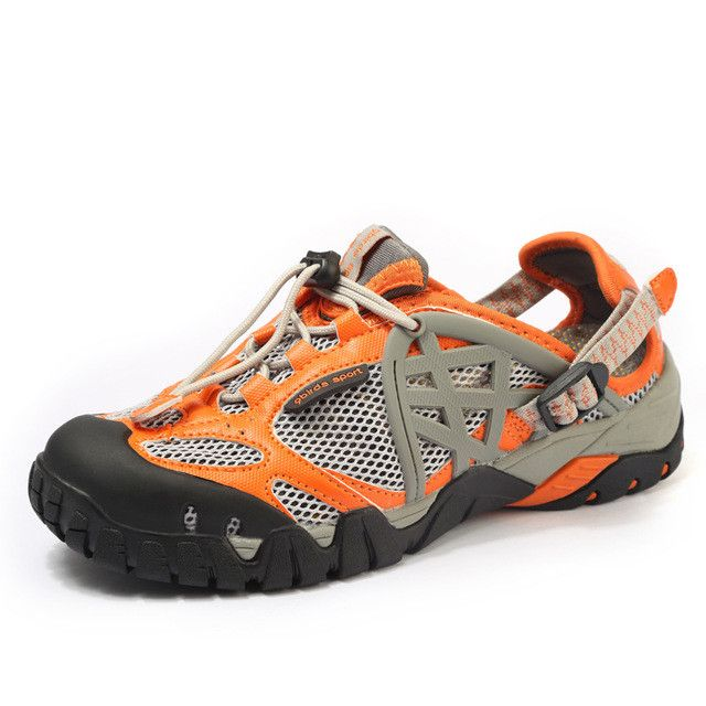 Breathable Closed-Toe Mesh Hiking ,Water Sports, Aqua Shoes for Women and Men