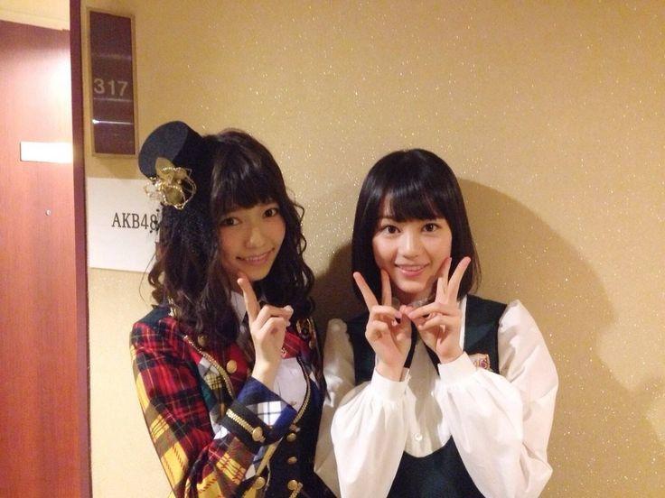 Shimazaki Haruka AKB48 & Ikuta Erika Nogizaka46