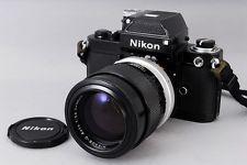 ''Excellent+++'' Nikon F2 35mm SLR Camera / NIKKOR-Q Auto 135mm F/2.8 Lens