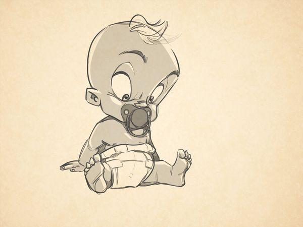 Cartooning Ultimate Character Design Book Pdf : Best baby drawing ideas on pinterest nursery art