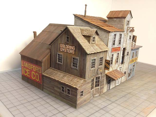 Railroad Line Forums - Fos Scale Models Red Hook Wharf Build HO scale
