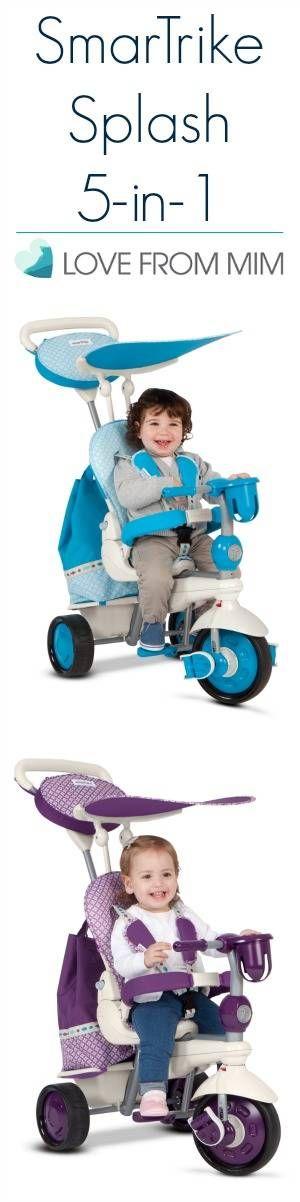 SmarTrike Splash 5-in-1 - lovefrommim.com SmarTrike Trike Kids Bike Kids Trike Toddler Trike