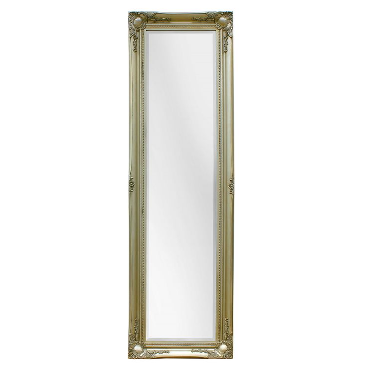 Selections by Chaumont Maissance Traditional Full Length Mirror (Satin - Champagne (Beige))