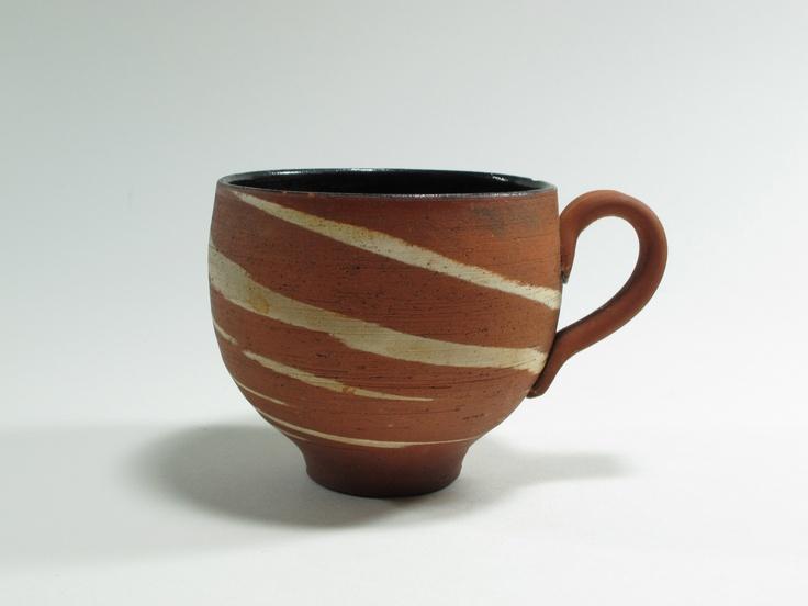 Warren Tippett, mug, agate ware, c.1983, Auckland, New Zealand. Collection of Auckland Museum, K6563