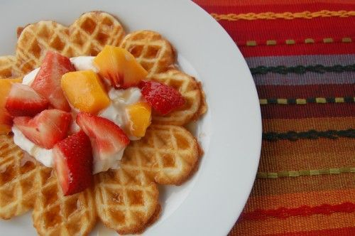 Waffles of Insane Greatness - Sisters Cafe