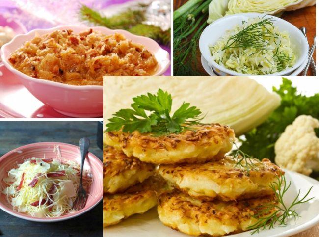 17 блюд из белокочанной капусты. Коллекция рецептов из капусты: салаты, супы, гарниры, оладьи,  котлеты и обед «Антистресс» с капустой.  – читайте на Domashniy.ru