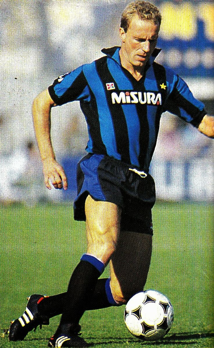W.German international Karl-Heinz Rummenigge with Inter Milan.