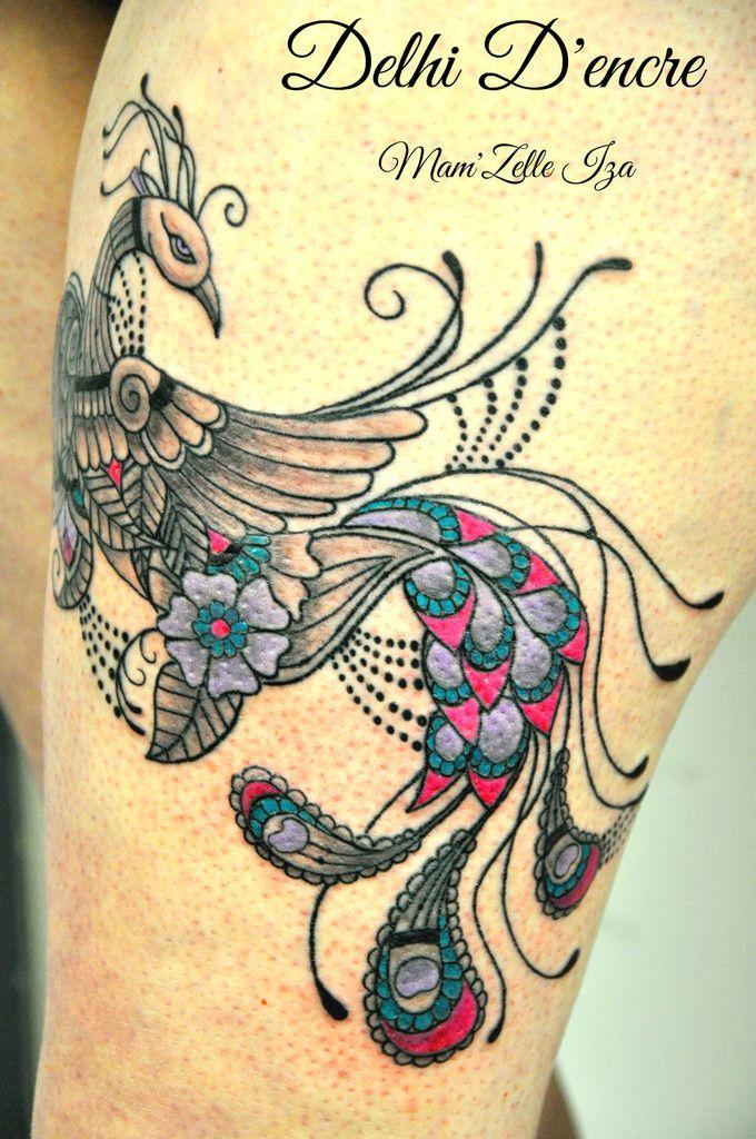 tatouage dentelle paon - Recherche Google