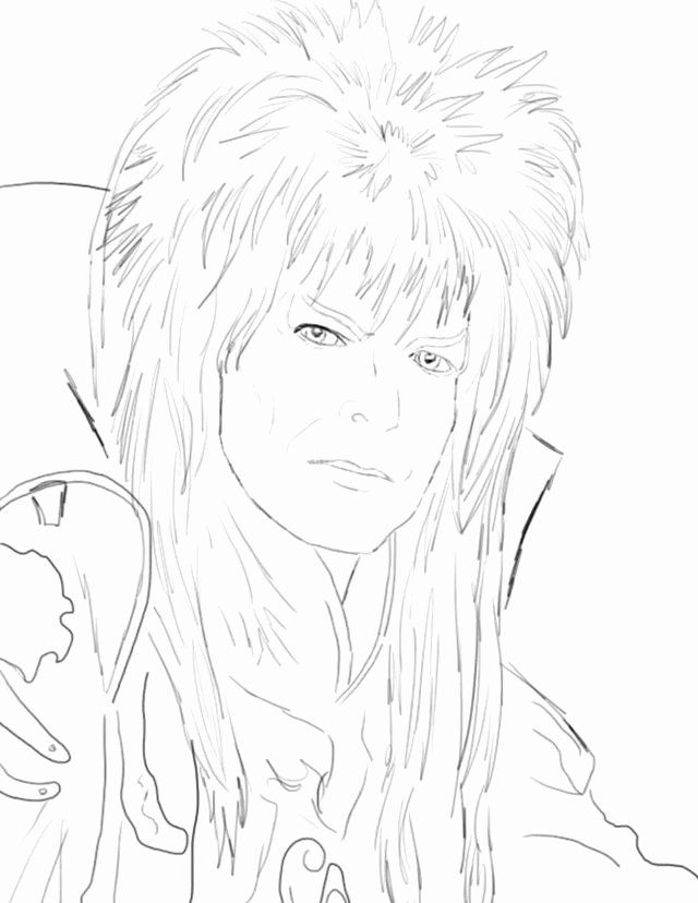 David Bowie Coloring Book Lovely Coloring David Bowie Labyrinth Coloring Pages Coloring Books David Bowie Manga Coloring Book