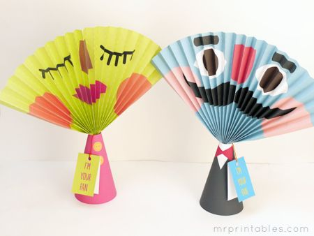 how to make paper fan: Summer Crafts, Crafts Paper, Crafts For Kids, Crafts Ideas, Kids Crafts, Printable Paper, Paper Fans, Crafts Projects, Free Printable