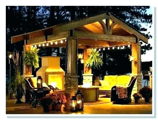 Pergola With Roof And Chandelier Google Search Outdoor Pergola Outdoor Kitchen Design Gazebo Lighting