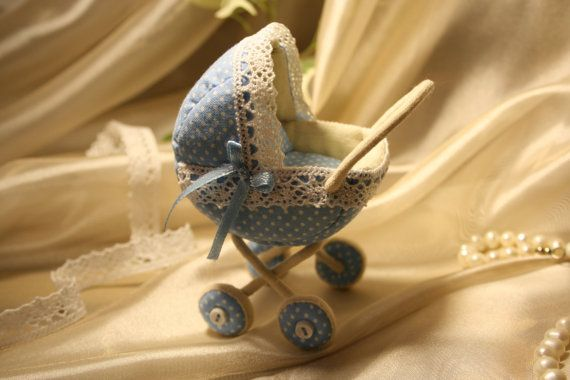 Baby carriage by AnnaToys on Etsy, $52.00