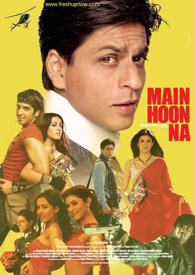 Main Hoon Na (2004) Hindi Movie 475MB Free download