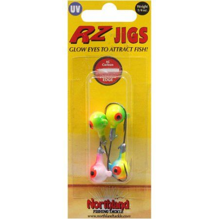 Northland Tackle RZ Jig, 1/4 oz, Assorted, Multicolor