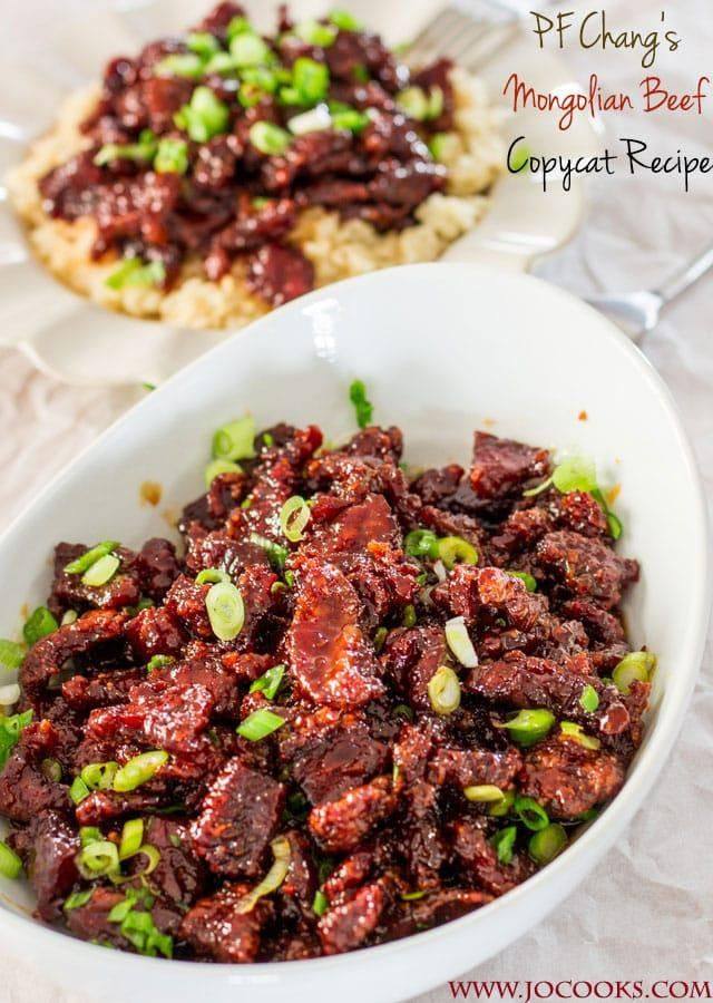 Pf Chang S Mongolian Beef Copycat Recipe In 2019 Cooking