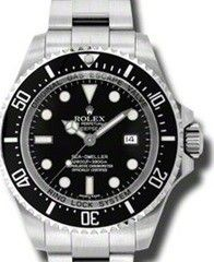 ROLEX WATCHES - SEA-DWELLER DEAPSEA 44MM- STYLE NO: 116660 DATED 2008 FIRST MODEL OUT