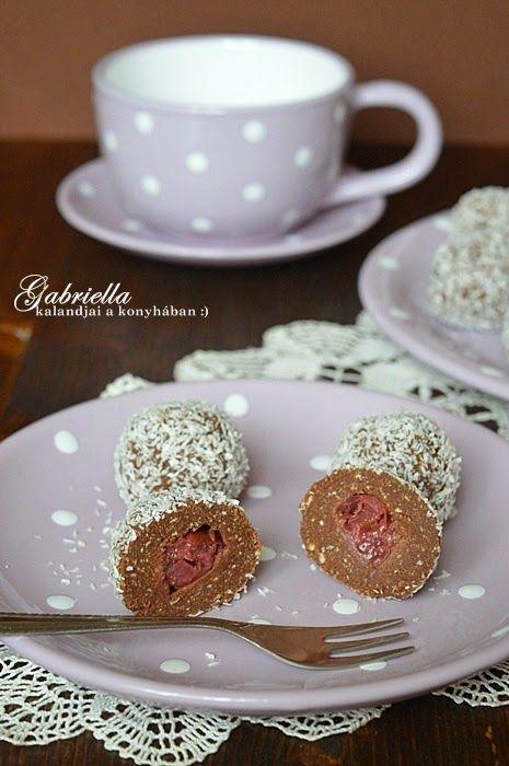 Gabriella kalandjai a konyhában :): Kókuszgolyó