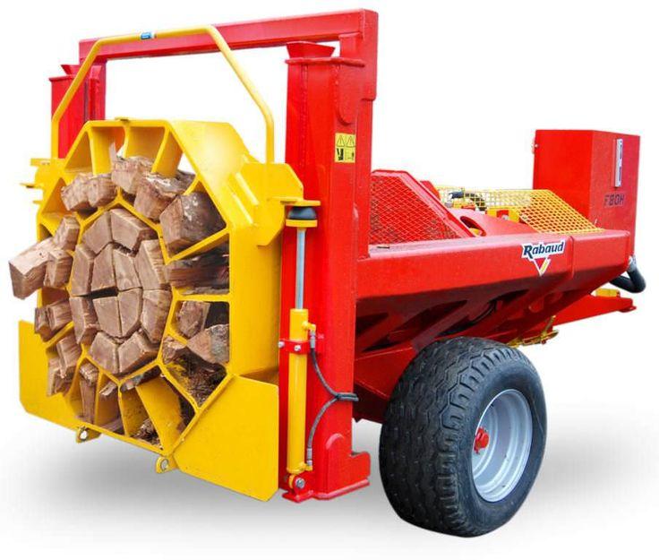 Log splitter horizontal RABAUD