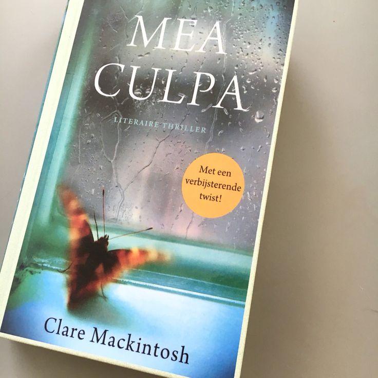 #boekperweek 24/52. Mea culpa. #thriller #literarythriller