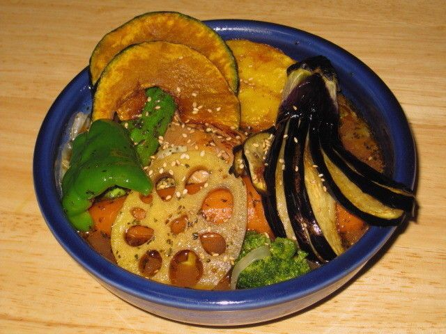 魚介豚骨スープカレー