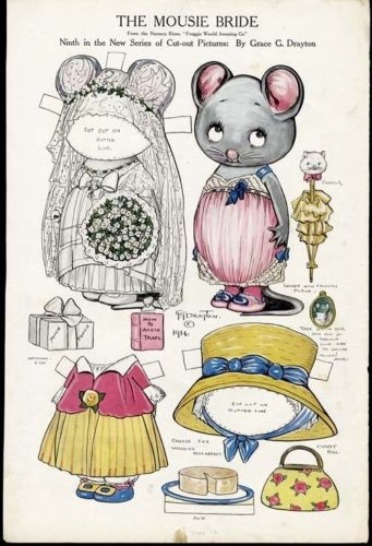 MOUSIE BRIDE by Grace Drayton