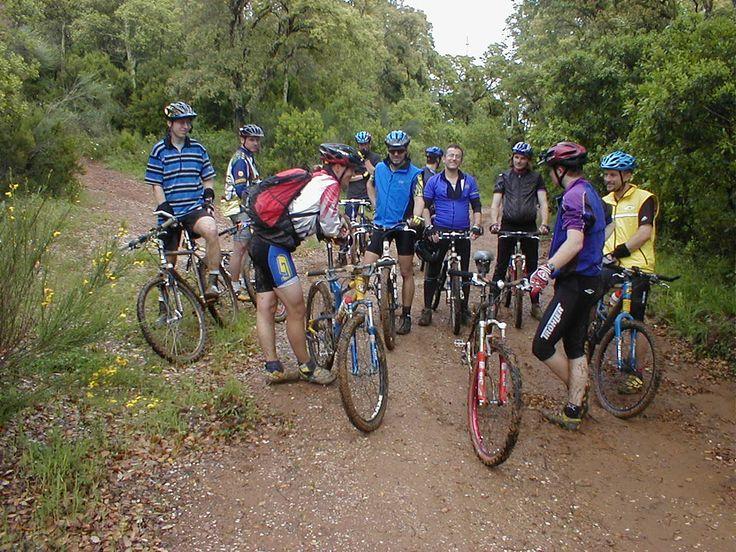 Escursione in Mountain Bike !! #mountainbike #bici #escursione #gara #natura #benessere #starbene #sport #attivita #fisico #freni #sicurezza