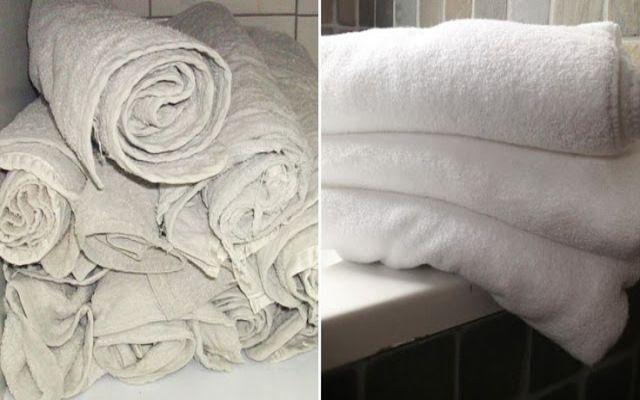Las toallas en ocasiones dejan de absorber el agua y tienen un olor desagradable que es culpa del detergente o el suavizante, que se acumu...
