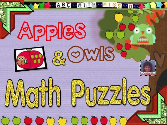 Learning to count with apples and owls!!  As preschoolers and kindergarteners start to learn basic math skills, they need extra practice conceptualizing number quantities and numerical symbols. Lets practice through play!  This set of apple and owl puzzles develops your childs math skills by teaching the concept that a number (and the shape, size, and look of that number) corresponds to an AMOUNT (or quantity) of things. Your students will see an adorable owl holding up a number sign, and…