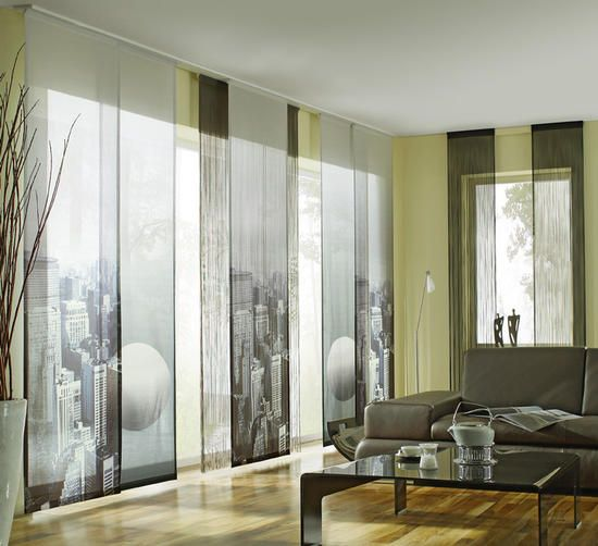 16 besten Gardinen Bilder auf Pinterest Gardinen, Raumteiler und - gardine wohnzimmer modern
