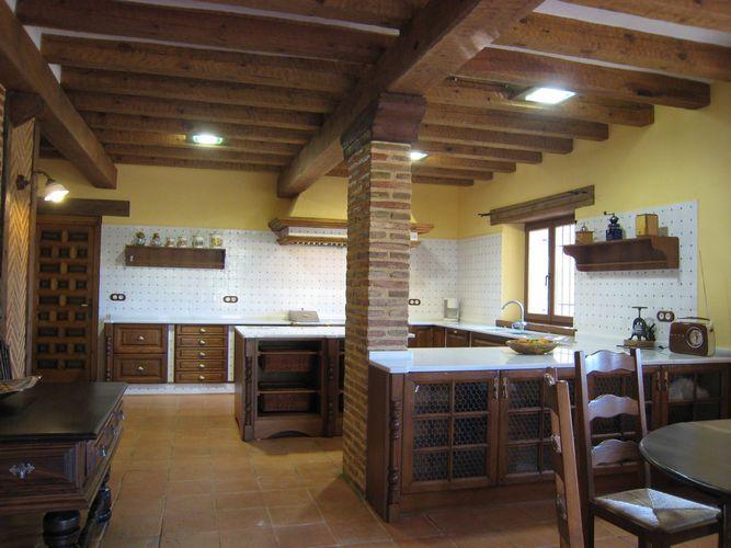 Dise o de cocina dise o de cocinas en titulcia cocina - Cocinas rusticas de campo ...