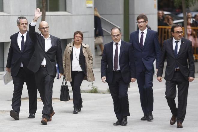 Los ex consellers del Govern ante la Justicia y otras noticias del día