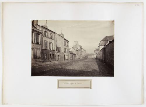 Rue des Fossés-Saint-Marcel, aujourd'hui rue de l'Estrapade,  5ème arrondissement, Paris | Paris Musées