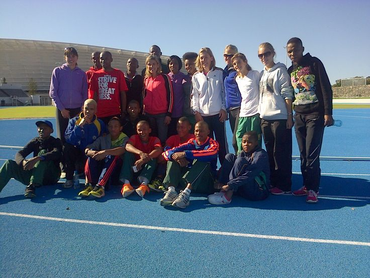 Endurocad Athletes at Green Point Stadium - June 2013