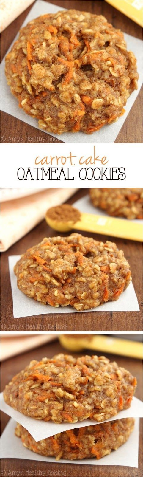 Carrot Cake Oatmeal Cookies | See The Pics