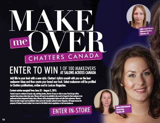 How would you like to chance to win a #makeover from #Chatters Salon? #YYC